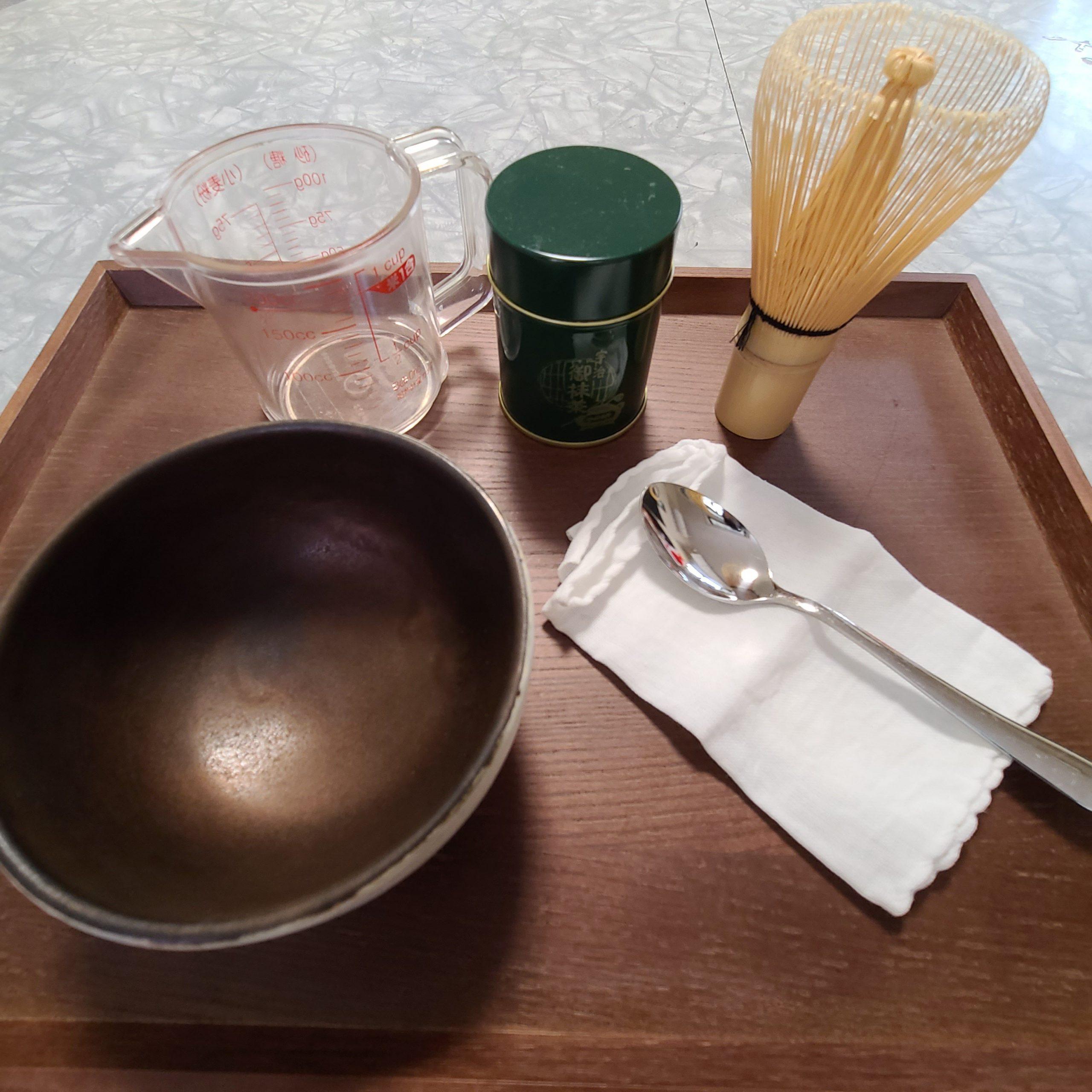 自宅で美味しい抹茶を点てる!家にあるもので抹茶を点てる方法